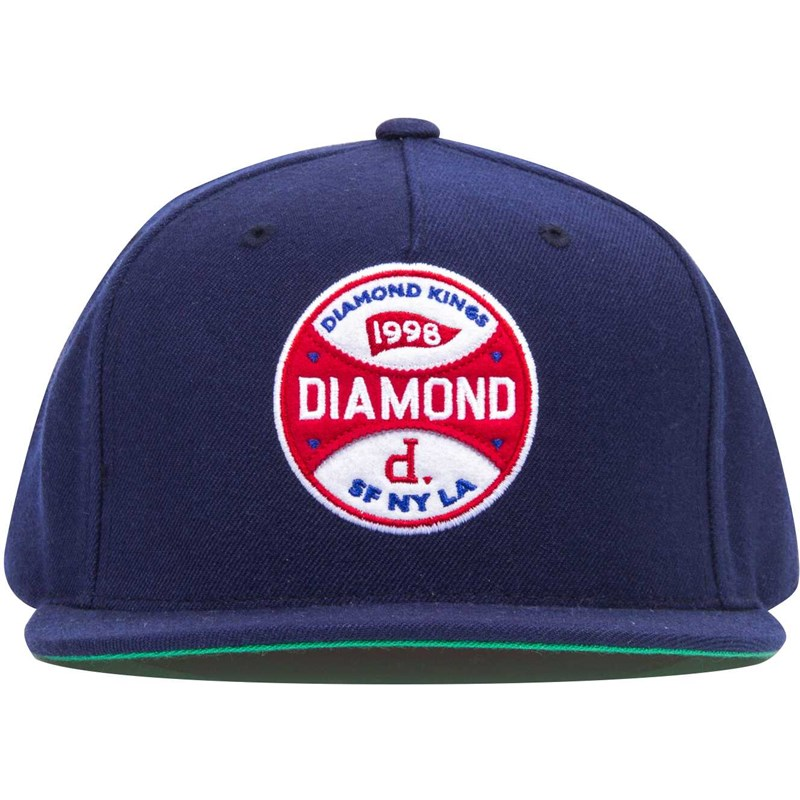 kšiltovka DIAMOND - Diamond Kings Navy (NVY)