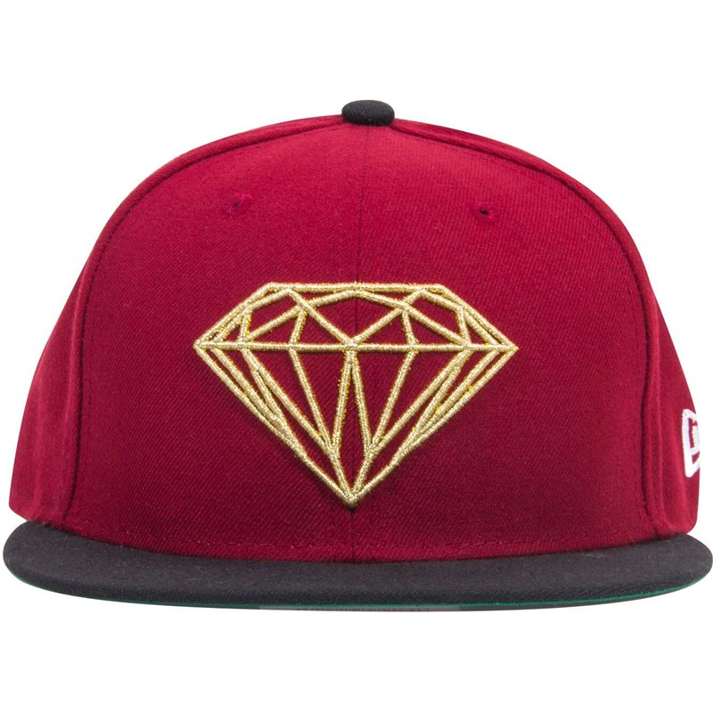kšiltovka DIAMOND - Brilliant Fitted Red Gold (RDGD)
