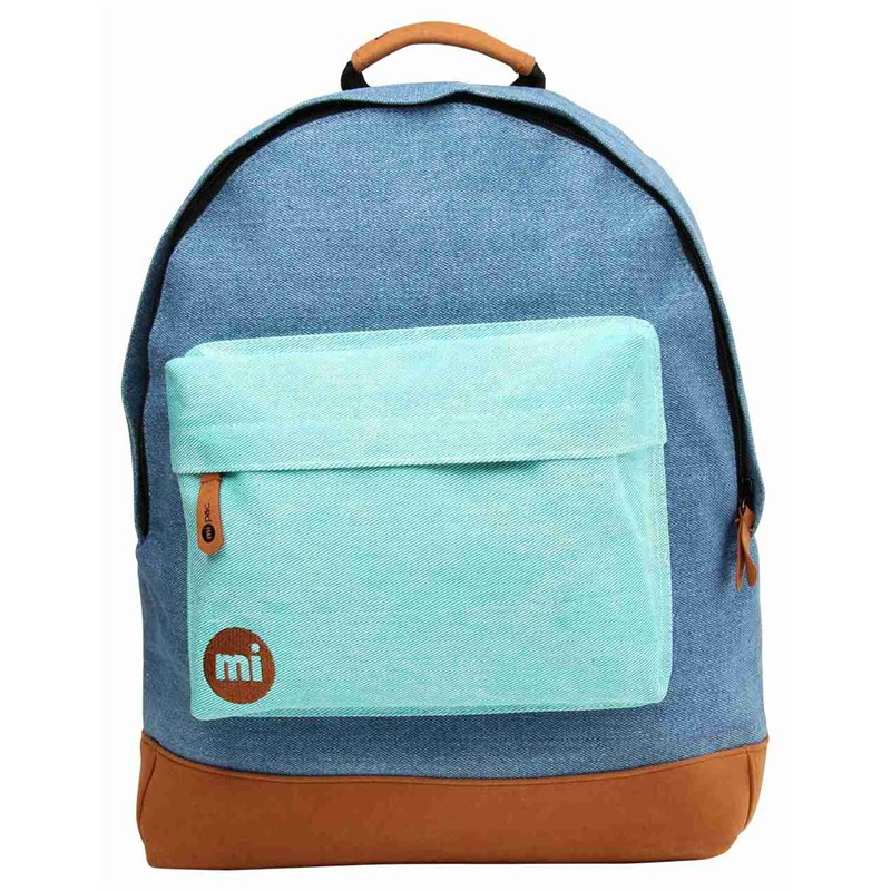 batoh MI-PAC - Denim Patch Denim Green (006)