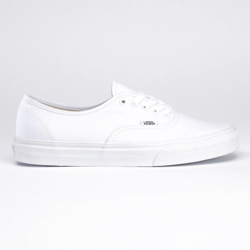boty VANS - Authentic True White (W00)