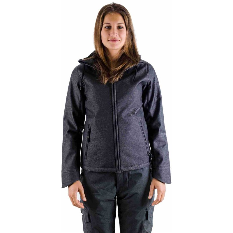 bunda LIGHT - Softshell Pipa Black Denim (403)