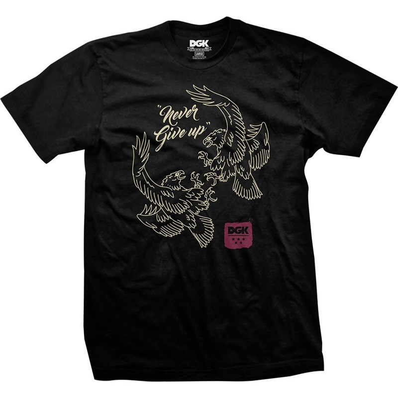 triko DGK - Good Fight Black (BLACK)