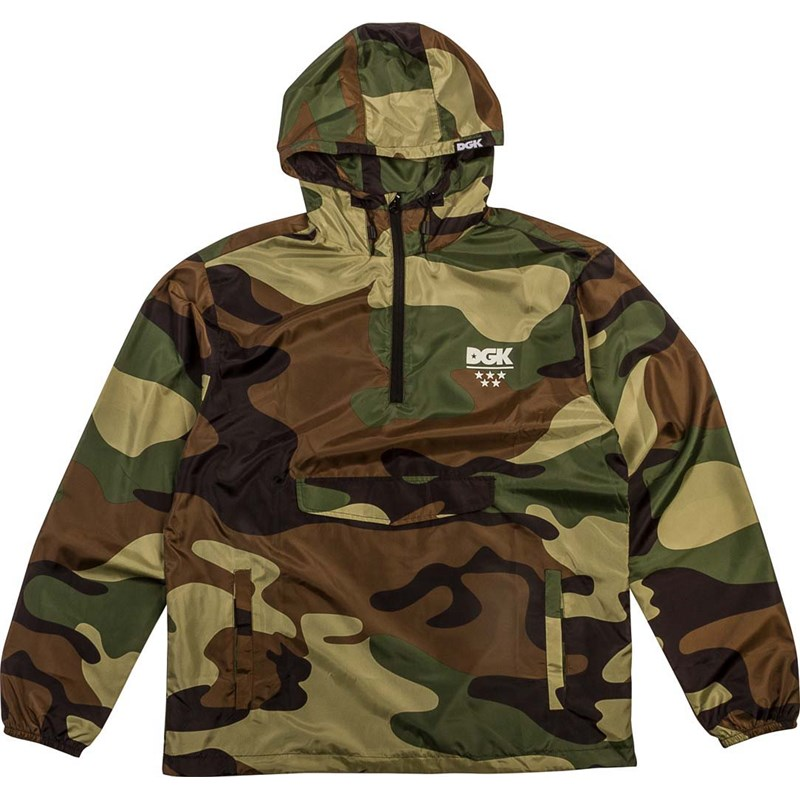 bunda DGK - Deployment Custom Windbreaker Camo (CAMO)