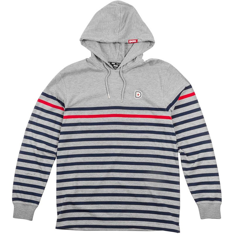 mikina DGK - Liverpool Hooded Knit Grey (GREY)