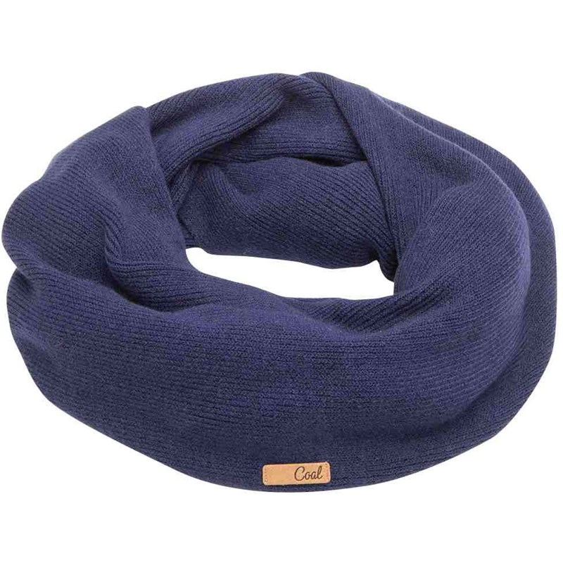 šála COAL - The Julietta Eternity Scarf Navy (05)