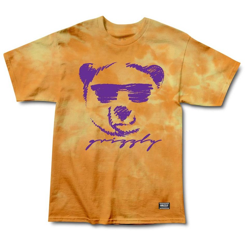 triko GRIZZLY - Coolin Tee Orange (OR)
