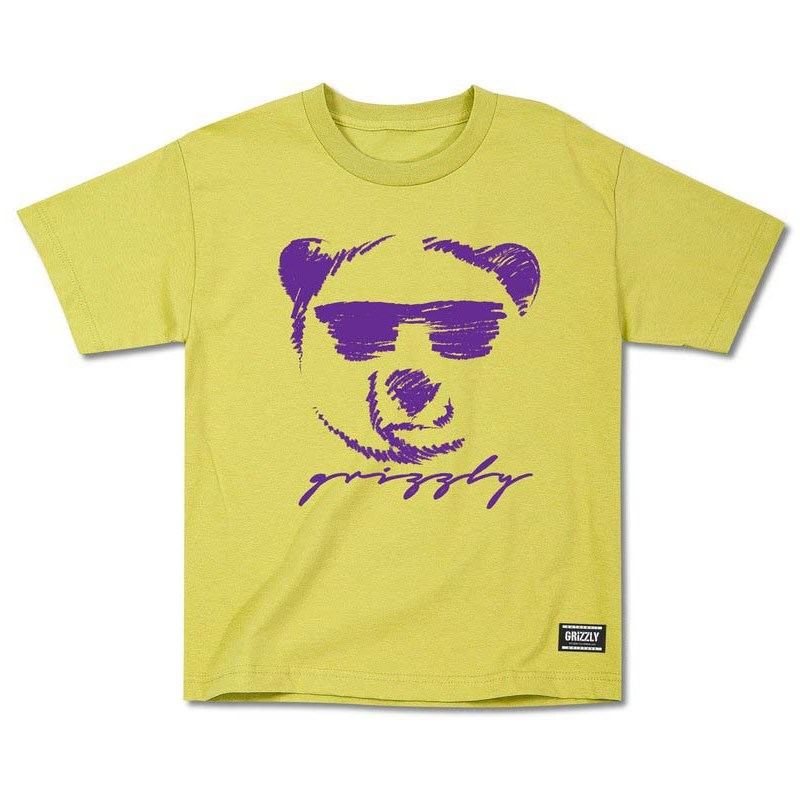 triko GRIZZLY - Coolin Youth Tee Yellow (YELL)