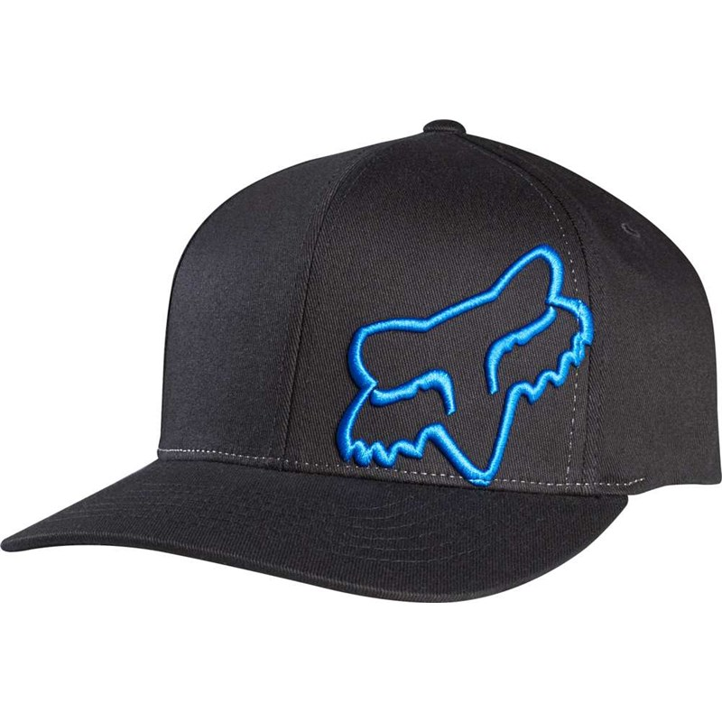 kšiltovka FOX - Flex 45 Black/Blue (013)