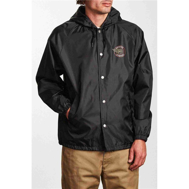 bunda BRIXTON - Mercury Jacket Black (BLACK)