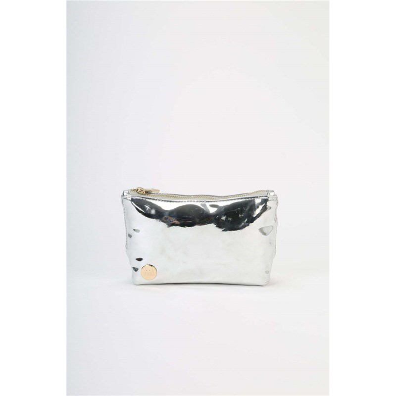 gymsack MI-PAC - Make Up Bag Mirror Silver (016)