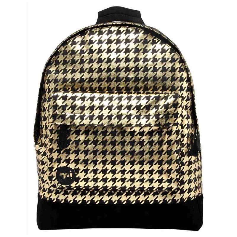 batoh MI-PAC - Houndstooth Black/Gold (001)