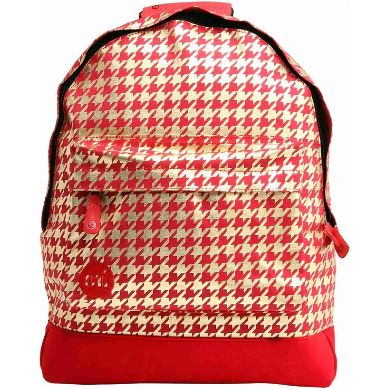 batoh MI-PAC - Houndstooth Red/Gold (003)