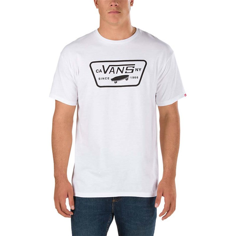 triko VANS - Full Patch White/Black (YB2)