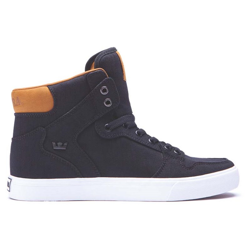 boty SUPRA - Vaider Black/Brown-White (BLK)