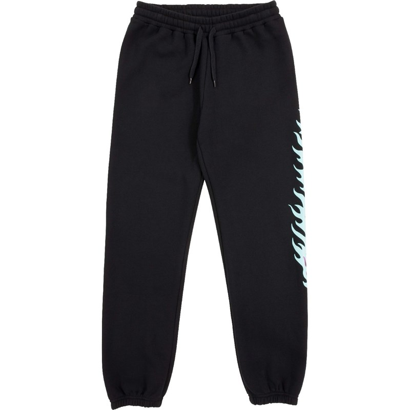 tepláky SANTA CRUZ - Flame Dot Sweatpant Black (BLACK)