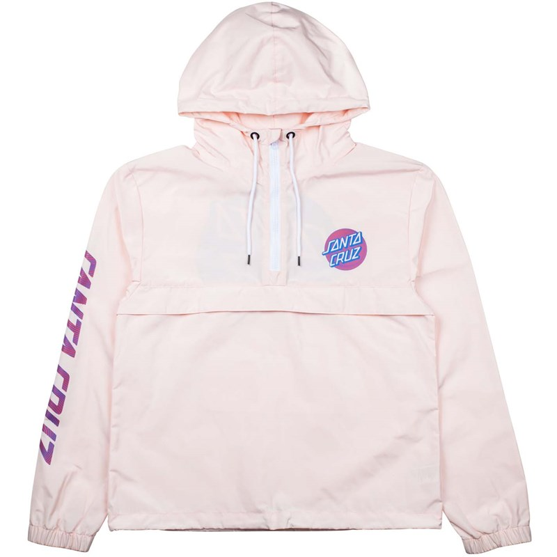 bunda SANTA CRUZ - Coiled Dot Jacket Soft Pink (SOFT PINK)