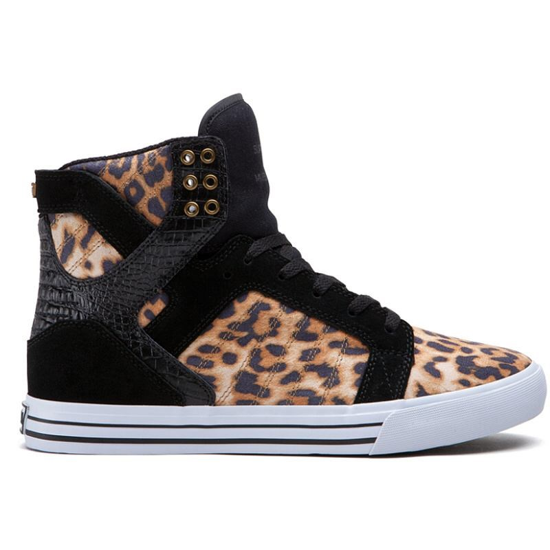 boty SUPRA - Skytop High Cheetah/Black-White (BCT)