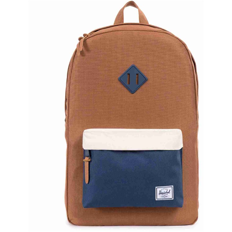 batoh HERSCHEL - Heritage Navy/Natural/Flamingo/Natural Rubber Bac (00632)