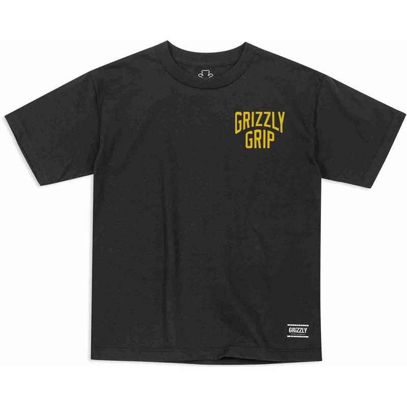 triko GRIZZLY - Youth All City S/S Tee Black (BLK)