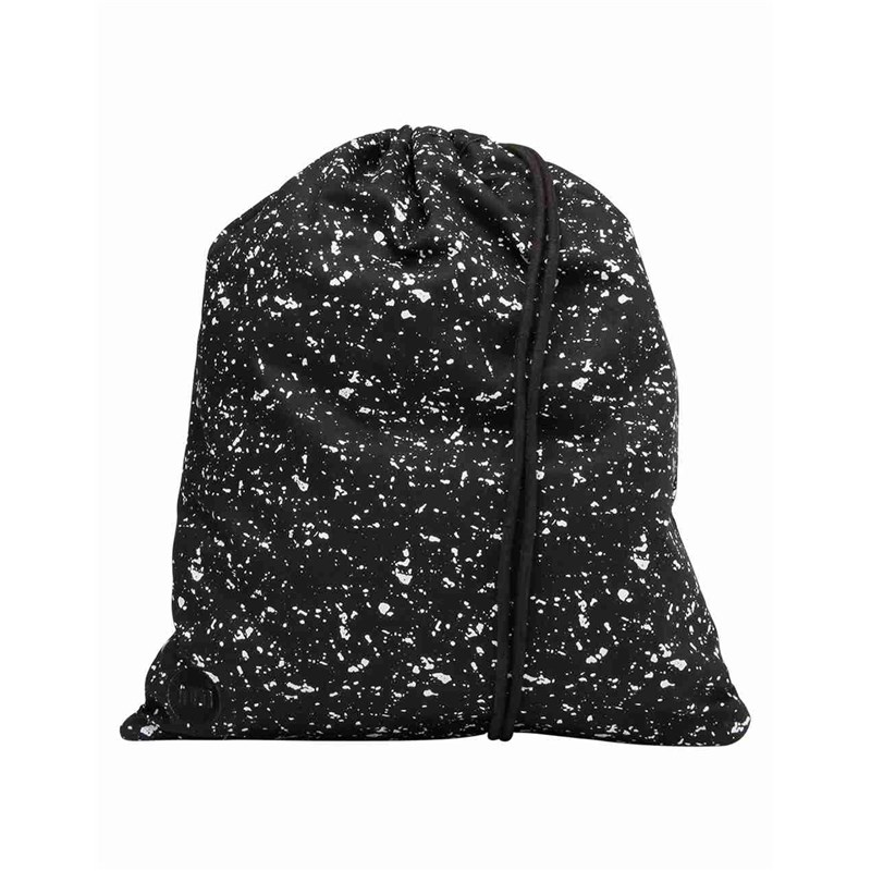 gymsack MI-PAC - Kit Bag Splattered Black/White (003)
