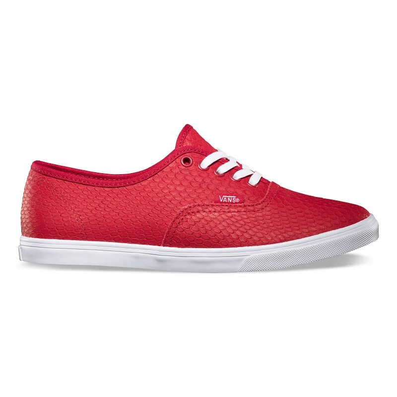 boty VANS - Authentic Lo Pro (Embossed Snake) Chili Pepper (8KU)