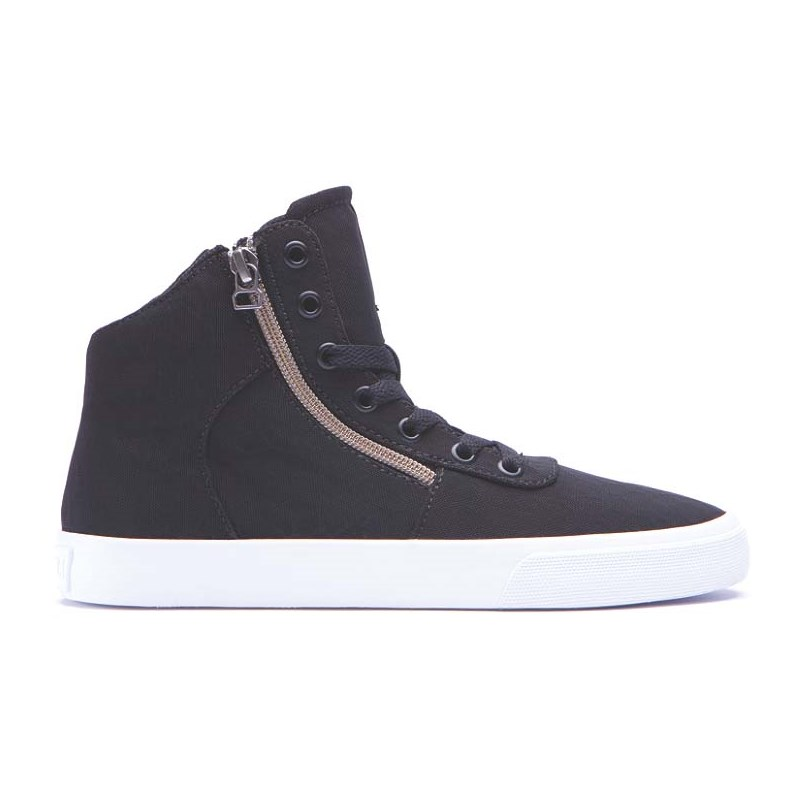 boty SUPRA - Womens Cuttler Black/Crackle-White (BCR)