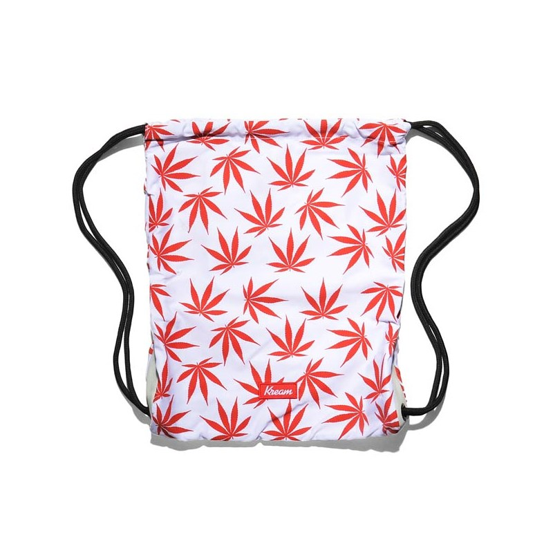 gymsack KREAM - Kream Need For Weed Ii Bag White/Red (1600)