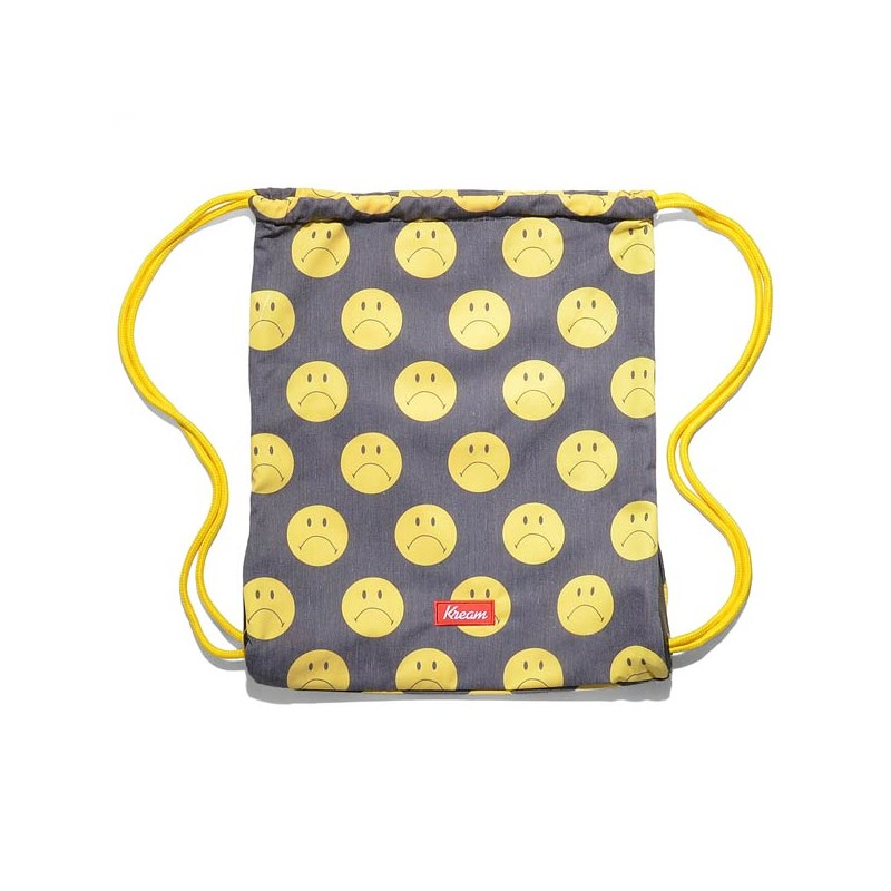 gymsack KREAM - Kream Sheepan Upturn Bag Black/Yellow (0200)