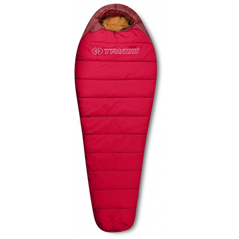 spací pytel TRIMM - Polaris Ii Red/Dk.Red (RED DK.RED)