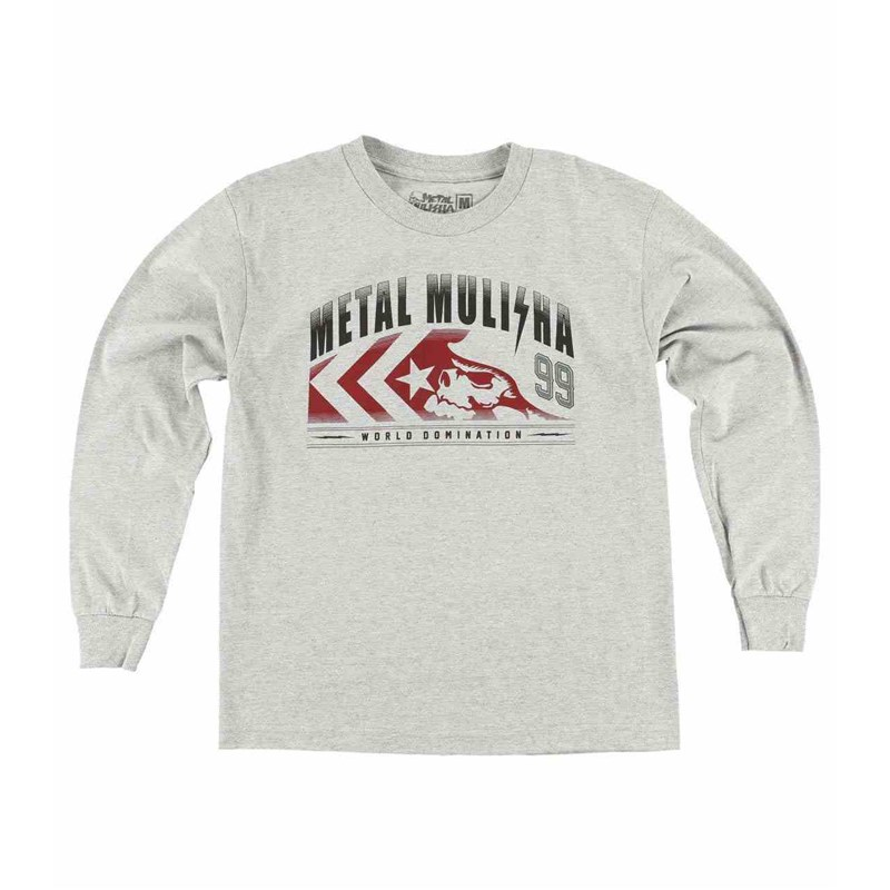 triko METAL MULISHA - Pound L/S Boys (HGR)