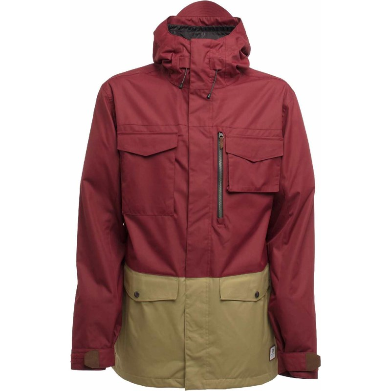 bunda SESSIONS - Ransack Jacket Burgundy (BUR)