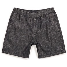kraťasy BRIXTON - Steady Elastic Wb Short Black Acid Wash (BLKAW)