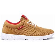 boty SUPRA - Hammer Run Tan-Risk Red-White (289)