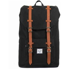 batoh HERSCHEL - Little America Mid-Volume Black/Tan (00001)