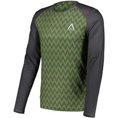termo prádlo CLWR - Guard Ls Jersey Olive Herringbone (536)