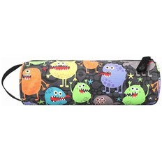 penál MI-PAC - Pencil Case Monsters Black (261)