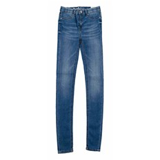 legíny BLEND SHE - Moon Cherry jeggings Med. Light denim blue (29033)