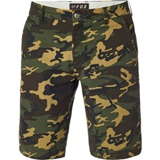 kraťasy FOX - Essex Camo Short Green Camo (031)