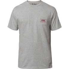 triko FOX - Heater Ss Pocket Tee Light Heather Grey (416)