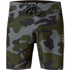 plavky FOX - Overhead Camo Stretch Fhe 18in Green Camo (031)