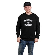 mikina SNOWBITCH - Everybody Crew Black (BLACK)