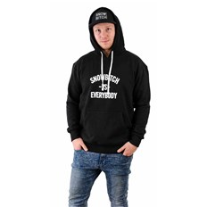 mikina SNOWBITCH - Everybody Hoody Black (BLACK)