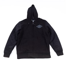 mikina METAL MULISHA - Drop Fleece Zip Hoo (BLK)