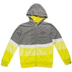 mikina RIP CURL - Floater Hooded Zip Fleece Cement Marle (4880)