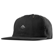 kšiltovka EMERICA - Try Strapback Black (001)