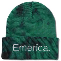 kulich EMERICA - Tied Cuff Beanie Green/Black (310)