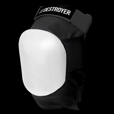 chránič kolen DESTROYER - Am Knee Black/White (BWT)
