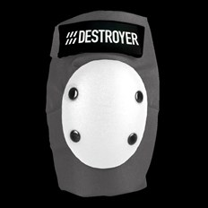 chránič kolen DESTROYER - Pro Elbow Grey/White (GRW)