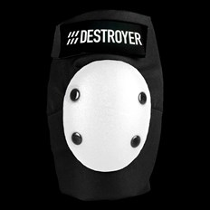 chránič kolen DESTROYER - Am Elbow Black/White (BWT)