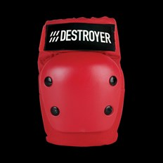 chránič kolen DESTROYER - Rec Elbow Red (RED)